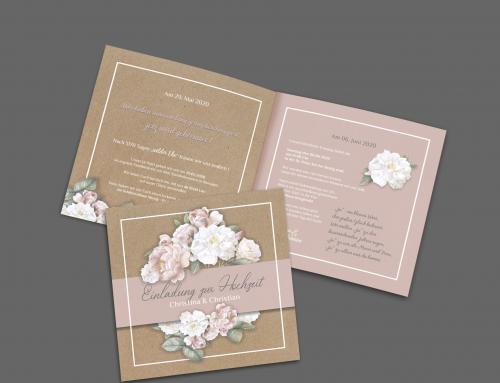 Christina Hochzeitskarte