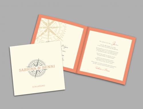 Sabrina Hochzeitskarte